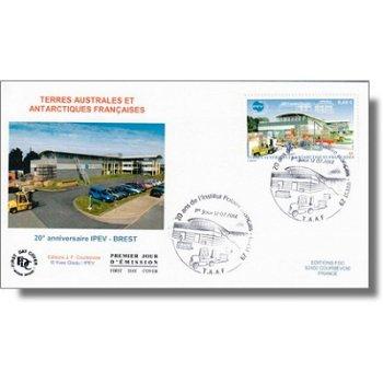 20 Jahre Polarinstitut (IPEV) - Ersttagsbrief, TAAF