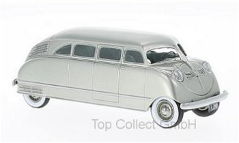 Modellauto:Stout Scarab von 1935, silber(NEO, 1:43)