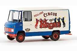 Modell-LKW:Mercedes-Benz L 406 - Circus Krone - von 1968(Brekina, 1:87)