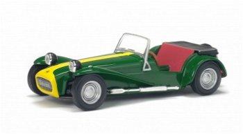 Modellauto:Lotus Seven, grün(Solido, 1:43)