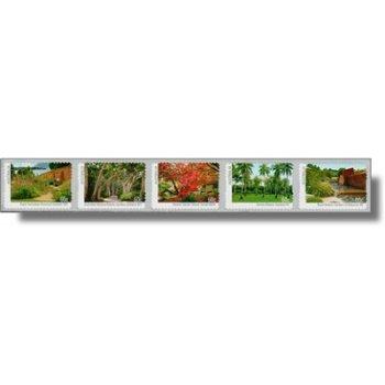 Botanische Gärten - 5 Briefmarken im Streifen selbstklebend postfrisch, Australien