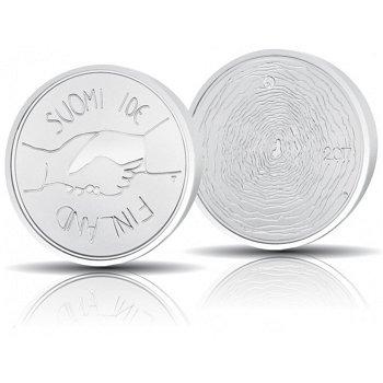 100. Jahrestag Unabhängiges Finnland, 10 Euro Silbermünze 2017, polierte Platte, Finnland