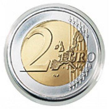 10 Lindner-Münzkapseln für 2-Euro-Gedenkmünzen, Lindner 2250026P