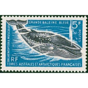 Wale - Briefmarke postfrisch, Katalog-Nr. 36, TAAF