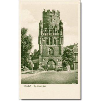 3500 Stendal - Postcard & quot; Gate & quot;