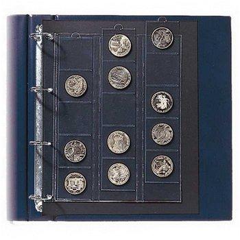 Spezial-Ergänzungsblatt für je 35 Münzen bis 26 mm ∅, 2 er Pack, Safe 5412