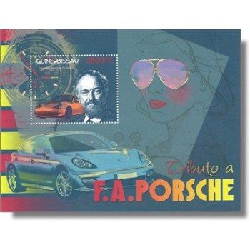 Ferdinand Alexander Porsche - Kleinbogenblock, Katalog-Nr. 6181, Block 1094, Guinea-Bissau