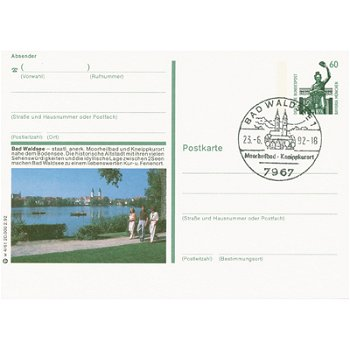 7967 Bad Waldsee - Bildpostkarte