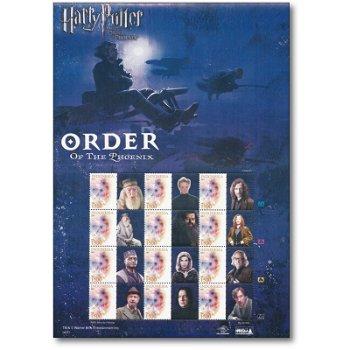 Harry Potter und der Orden des Phoenix: Personen - Großbogen postfrisch, Indonesien
