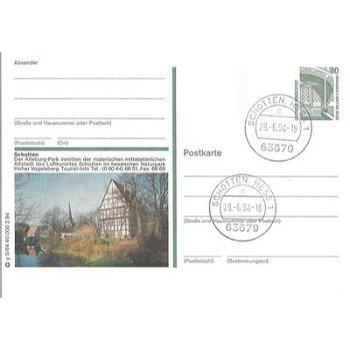 6479 Schotten / Hessen - picture postcard & quot; The Altburg-Park & quot;