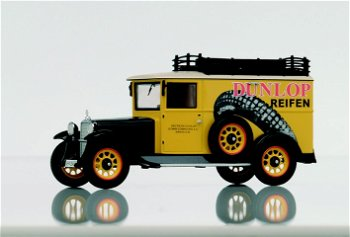 "Modell-LKW:Mercedes-Benz L 1000 ""Dunlop""(Premium ClassiXXs, 1:43)"