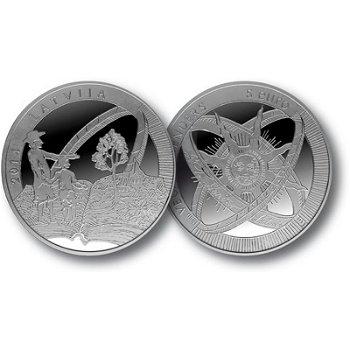 Gotthard Friedrich Stender, 5 Euro Silbermünze Lettland