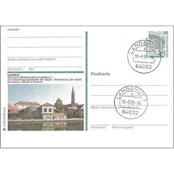 84032 Landshut - Bildpostkarte