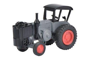 Modell-Traktor:Lanz Bulldog mit Holzgenerator und Dach(Schuco, 1:87)