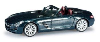 Mercedes-Benz SLS Roadster, schwarz(Herpa, 1:87)