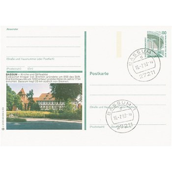 2830 Bassum - picture postcard