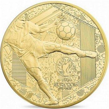 Fußball-Europameisterschaft 2016, 5 Euro Goldmünze, Frankreich
