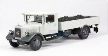 Modell-LKW:Mercedes-Benz LO 2750- Kohle-Transporter -(Premium ClassiXXs, 1:43)