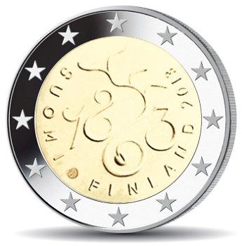 150 Jahre Sitzung des Parlaments, 2 Euro Münze 2013, Finnland