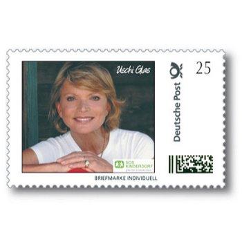 70. Geburtstag von Uschi Glas - Briefmarke Individuell postfrisch, Deutschland