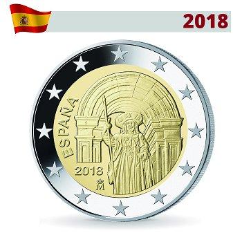 Santiago de Compostela - UNESCO, 2 Euro Münze 2018, Spanien