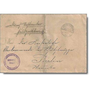 "Stempel ""KEETMANSHOOP"" - Feldpostbrief vom Hottentottenaufstand, Deutsch-Südwestafrika"