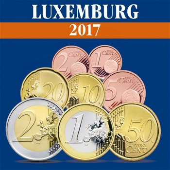 Luxemburg – Kursmünzensatz 2017