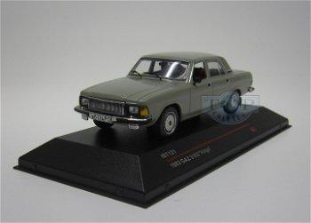 Modellauto:GAZ Wolga 3102 von 1983, grau(IST Models, 1:43)