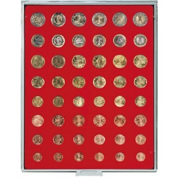 LINDNER Münzenbox, für Kursmünzensätze, LI 2506, Standard