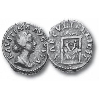 Faustina die Jüngere, Silberdenar, Römische Kaiserzeit