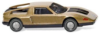 Modellauto:Mercedes C 111 von 1971, gold(Wiking, 1:87)