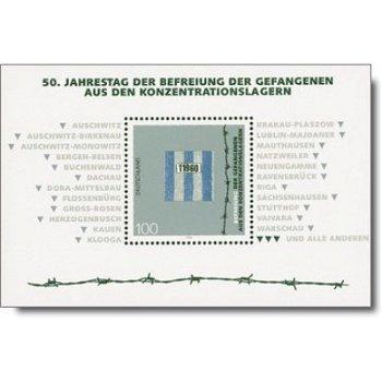 50. Jahrestag der Befreiung, Block 32 postfrisch, Katalog-Nr. 1796, Bundesrepublik