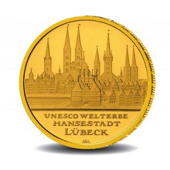 Hansestadt Lübeck, 100 Euro Goldmünze 2007, Deutschland