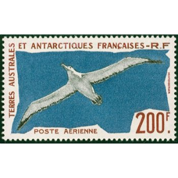Wanderalbatros - Briefmarke postfrisch, Katalog-Nr. 18, TAAF