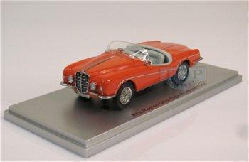 Modellauto:Alfa Romeo 1900 SS Ghia Aigle Roadster von 1956, orange(Kess, 1:43)