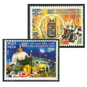 800. Todesfeierlichkeiten am Grabmahl des Sufi Ajmer - Briefmarken postfrisch, Indien