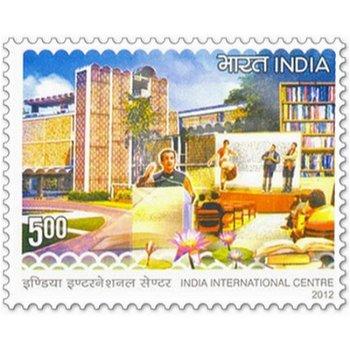 50 Jahre India International Centre (IIC) - Briefmarke postfrisch, Indien