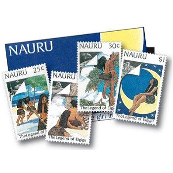 Die Sage von Eigigu - 4 Briefmarken postfrisch, Nauru