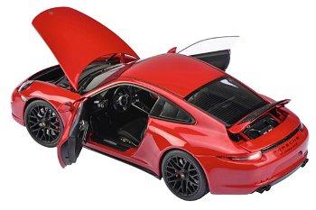 Modellauto:Porsche 911 Carrera GTS Coupé, rot(Schuco, 1:18)