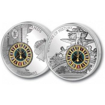 Grand Central Station, 10 Dollar Silbermünze, Cook Inseln