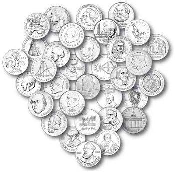 20-Mark-Münzen DDR - komplette Sammlung