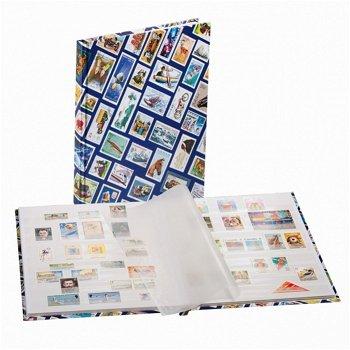 Einsteckbuch HOBBY, 16 weiße Seiten, blau, Leuchtturm 339105