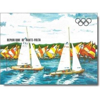 Olympische Sommerspiele 1984, Los Angeles – Briefmarken-Block postfrisch, ungezähnt, Katalog-Nr. 913