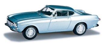 Modellauto:Volvo P 1800 in blausilber-metallic(Herpa, 1:87)