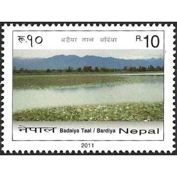 Landschaften – Briefmarke postfrisch, Nepal