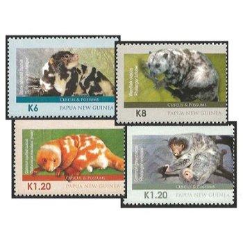 Kletter- und Gleitbeutler – Briefmarken postfrisch, Katalog-Nr. 1793-1796, Papua-Neuguinea