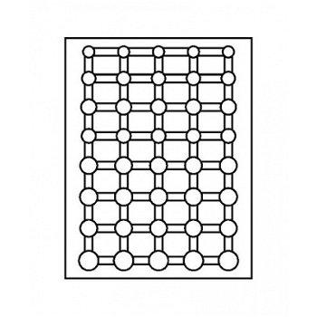 LINDNER Münzenbox, Kursmünzensätze verkapselt, LI 2556C, Carbo