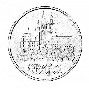 5-Mark-Münze 1972, Meißen, DDR