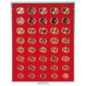 LINDNER Münzenbox, Kursmünzensätze verkapselt, LI 2556, Standard