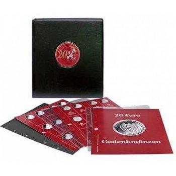 Premium-Münzen-Album für 20 Euro-Gedenkmünzen, SAFE, 7344